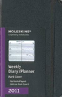 2011 Moleskine Agenda Semanal Horizontal Pocket Cartone - Aa. Vv.
