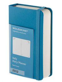 2012 Moleskine Agenda Diario D / P Xs Azul Cl. R: 1009042 -