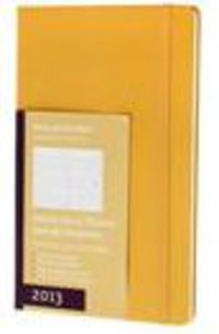 2013 Weekly Diary Horizontal Orange Yellow L R: 19142 - Aa. Vv.