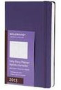 2013 Daily Diary Brilliant Violet L R: 19137 - Aa. Vv.