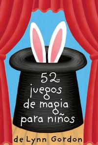 Baraja 52 Juegos De Magia Para Niños - Lynn Gordon