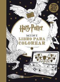 Harry Potter - Mini Libro Para Colorear - Aa. Vv.