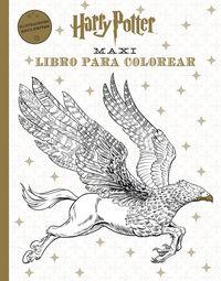 Harry Potter - Maxi Libro Para Colorear - Aa. Vv.