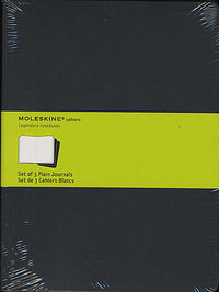 Moleskine Cahier Journals Xl Black Plain -