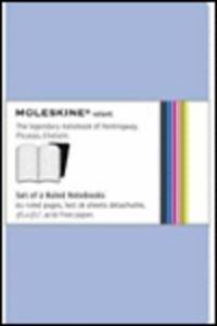 Moleskine Volant Ruled Pocket (pack Azul) - Aa. Vv.