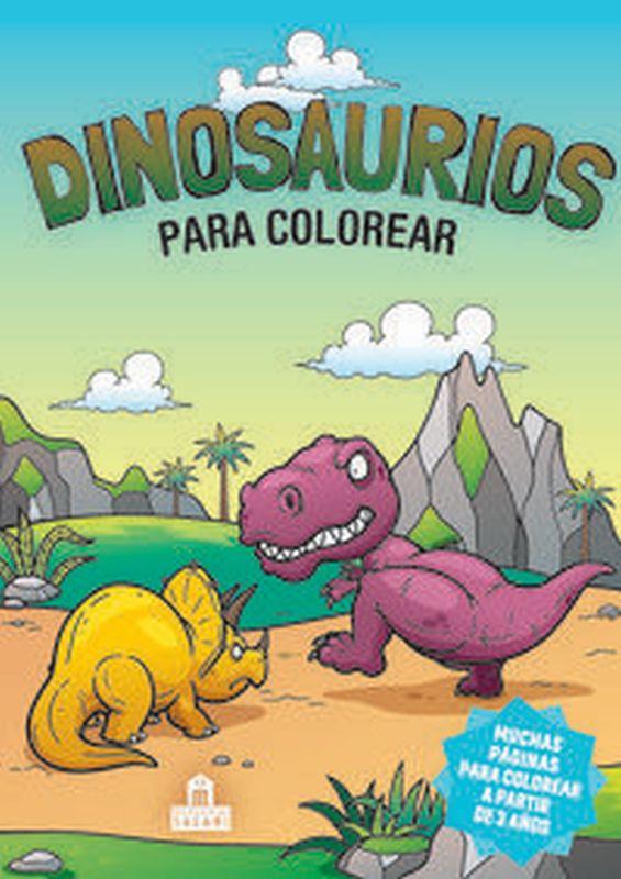 Dinosaurios Para Colorear - Aa. Vv.