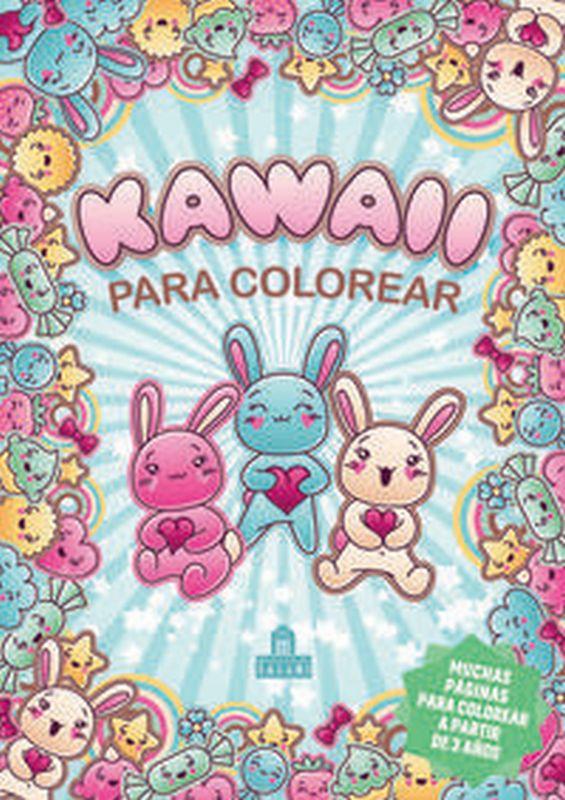 Kawaii Para Colorear - Aa. Vv.