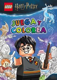 HARRY POTTER LEGO - JUEGA Y COLOREA