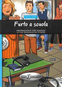 Furto A Scuola (a1-a1+)  (+cd) - Valentina Mapelli