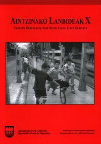 Aintzinako Lanbideak X - Carmelo Urdangarin Altuna