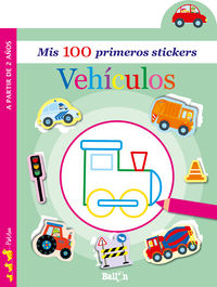 VEHICULOS - MIS 100 PRIMEROS STICKERS