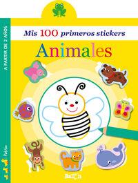 ANIMALES - MIS 100 PRIMEROS STICKERS