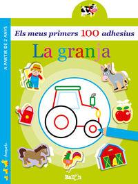 GRANJA, LA - ELS MEUS PRIMERS 100 ADHESIUS