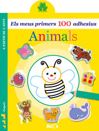 ANIMALS - ELS MEUS PRIMERS 100 ADHESIUS