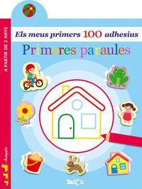 PRIMERES PARAULES - ELS MEUS PRIMERS 100 ADHESIUS