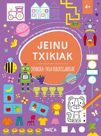 JEINU TXIKIAK - DENBORA - DIBERTIGARRIAK + 4 URTE