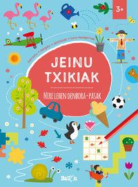 JEINU TXIKIAK - NIRE LEHEN DENBORA-PASAK +3 URTE