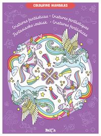 Criaturas Fantasticas - Colouring Mandalas - Aa. Vv.