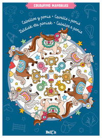 Caballos Y Ponis - Colouring Mandalas - Aa. Vv.