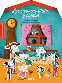SIETE CABRITILLOS Y EL LOBO, LOS - STICKERS