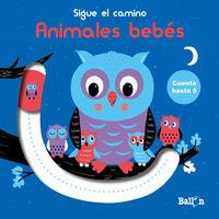 ANIMALES BEBES - SIGUE EL CAMINO - CUENTA HASTA 5