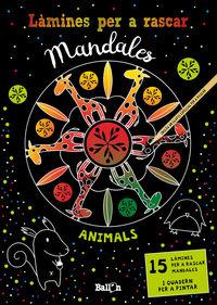 LAMINES PER A RASCAR MANDALES - ANIMALS