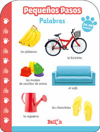 PEQUEÑOS PASOS - PALABRAS 24- 36 MESES