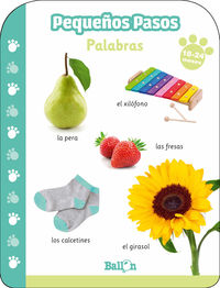 PEQUEÑOS PASOS - PALABRAS 18- 24 MESES