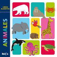 ANIMALES - LIBROS BLANDITOS