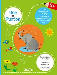 UNE LOS PUNTOS (+5 AÑOS) - DEL 1 AL 20