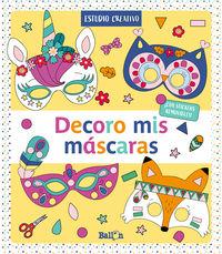 DECORO MIS MASCARAS - AMARILLO