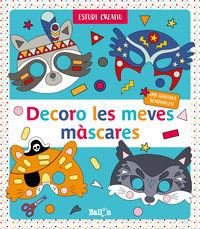 DECORO LES MEVES MASCARES - BLAU