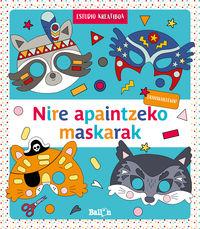 NIRE APAINTZEKO MASKARAK - URDINA