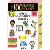 MIS 100 PRIMERAS NOCIONES - TARJETAS DE APRENDIZAJE BILINGUES ESPAÑOL / INGLES