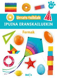FORMAK - URRATS TXIKIAK - IPUINA ERANSKAILUEKIN