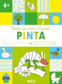 LLESTOS PER ANAR A L'ESCOLA! PINTA +4