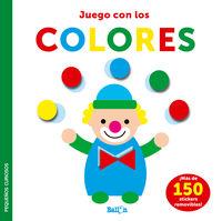 COLORES - PEQUEÑOS CURIOSOS - STICKERS-JUEGO CON LOS COLORES