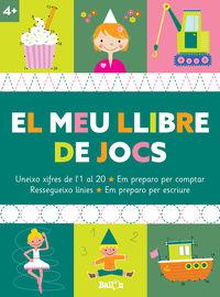 EL MEU LLIBRE DE JOCS +4