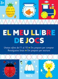 EL MEU LLIBRE DE JOCS +3