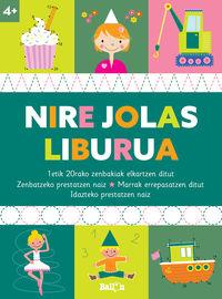 NIRE JOLAS LIBURUA +4