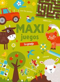 maxi juegos - la granja - Aa. Vv.