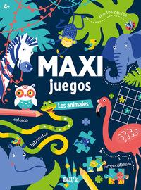MAXI JUEGOS - LOS ANIMALES