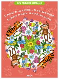 MUNDO DE LOS ANIMALES - NEW COLOURING MANDALAS