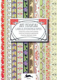 Art Nouveau Labels Sticker & Tapes - Aa. Vv.
