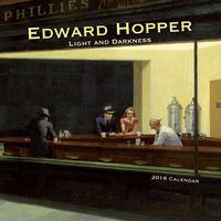 Calendario 2016 - Edward Hopper-light & Darkness - (30x30)  - (cl53005) - Aa. Vv.