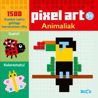 Animaliak - Pixel Art - Batzuk