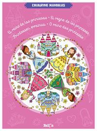 Reino De Las Princesas - Colouring Mandalas - Aa. Vv.