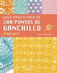 200 PUNTOS DE GANCHILLO - GUIA PASO A PASO