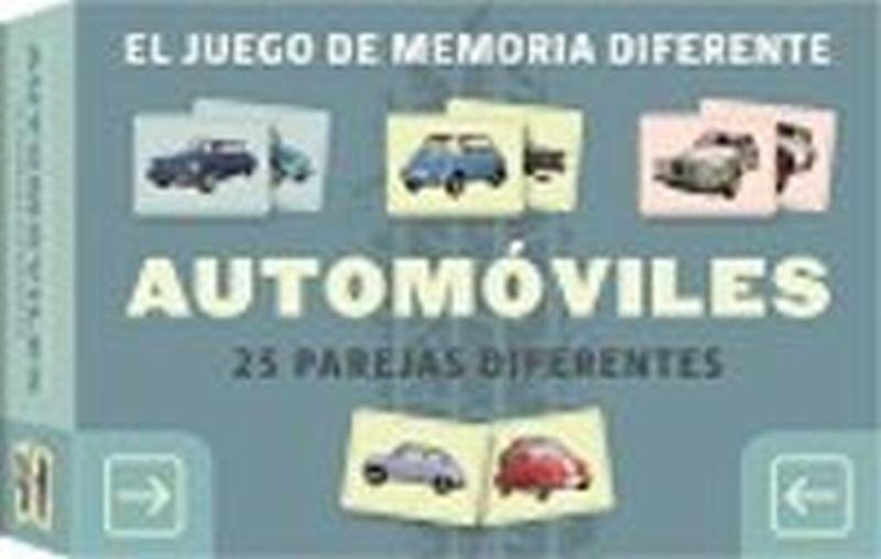 JUEGO DE MEMORIA DIFERENTE, EL - AUTOMOVILES