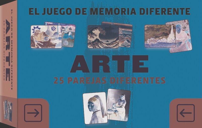 JUEGO DE MEMORIA DIFERENTE, EL - ARTE